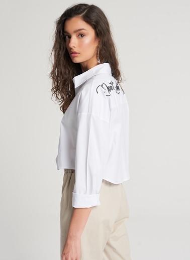 Pi π Gömlek Beyaz